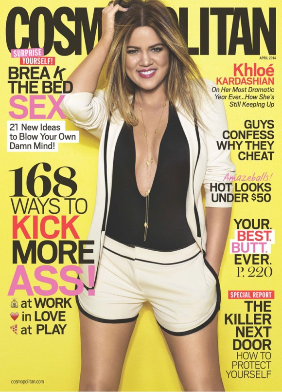Khloe Kardashian Cosmopolitan