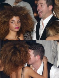 robin-thicke-and-mystery-woman