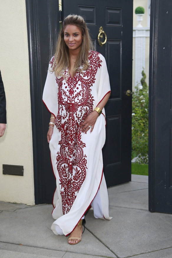 Ciara arrives to her baby shower in Beverly Hills
