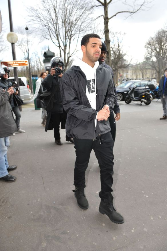 Drake Spotted Out In Paris