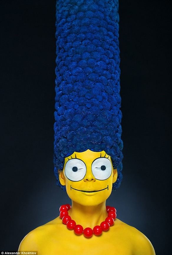 marge-simpson-real-life-the-simpsons