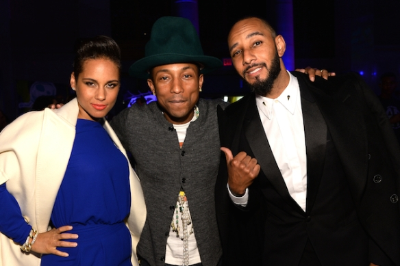 Pharrell Williams Celebrates 41st Birthday With SpongeBob SquarePants Themed Party - Inside